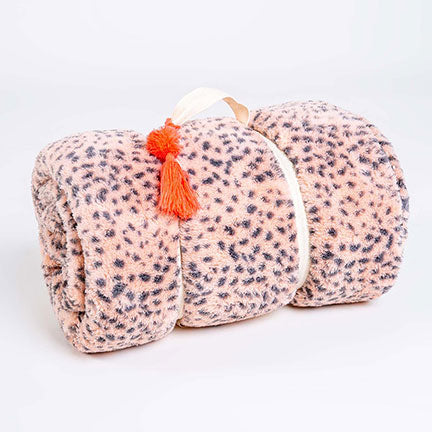 PJ Salvage Cozy Items Blanket RUCOBL - Blush