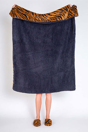PJ Salvage Cozy Items Blanket RUCOBL - Camel