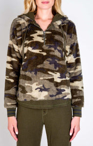 PJ Salvage Cozy Items Hoods RUCOHD - Camo