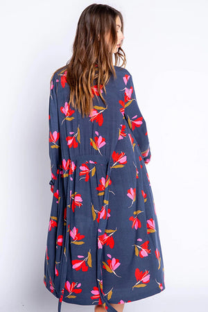 PJ Salvage Love Blooms Robe RWLBR