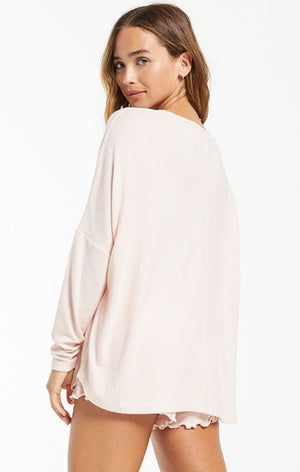 Z Supply Hang Out Ls Top ZLT211192