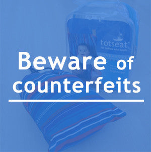 Beware of counterfeits