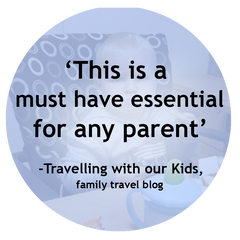 Travelling with our Kids' Totseat Review: 'must have essential'