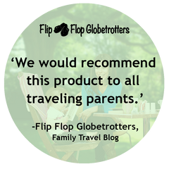 Flip Flop Globetrotters' Totseat Review: 'recommend this product to all travelling parents'