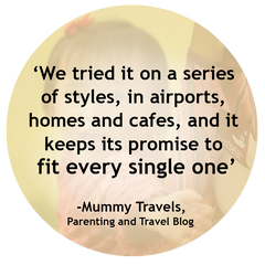 Mummy Travels' Totseat Review: 'it keeps its promise to fit every single one'