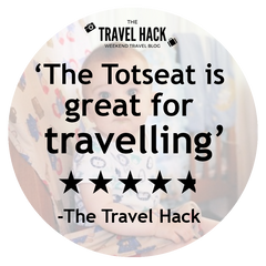 The Travel Hack's Totseat Review: 'great for travelling'