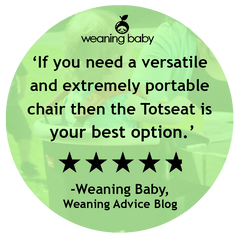 Weaning Baby's Totseat Review: 'Totseat is your best option'