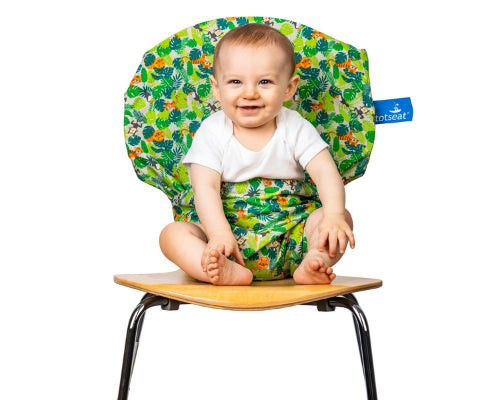 Your washable, squashable high chair