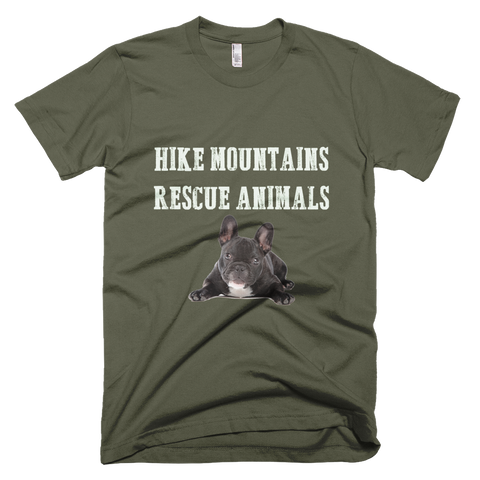 Hike Mountains Rescue Animals Mens