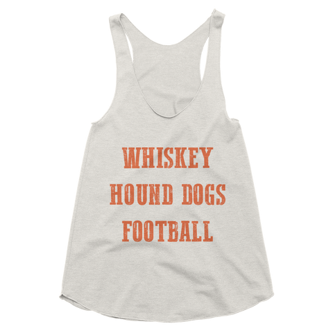 Whiskey Hound Dogs Football