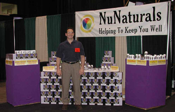 Warren Sablosky NuNaturals Trade Show 2000