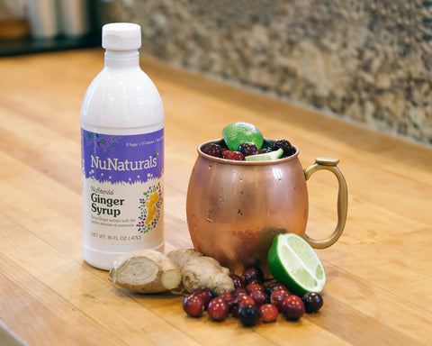 NuStevia Ginger Syrup Moscow Mule