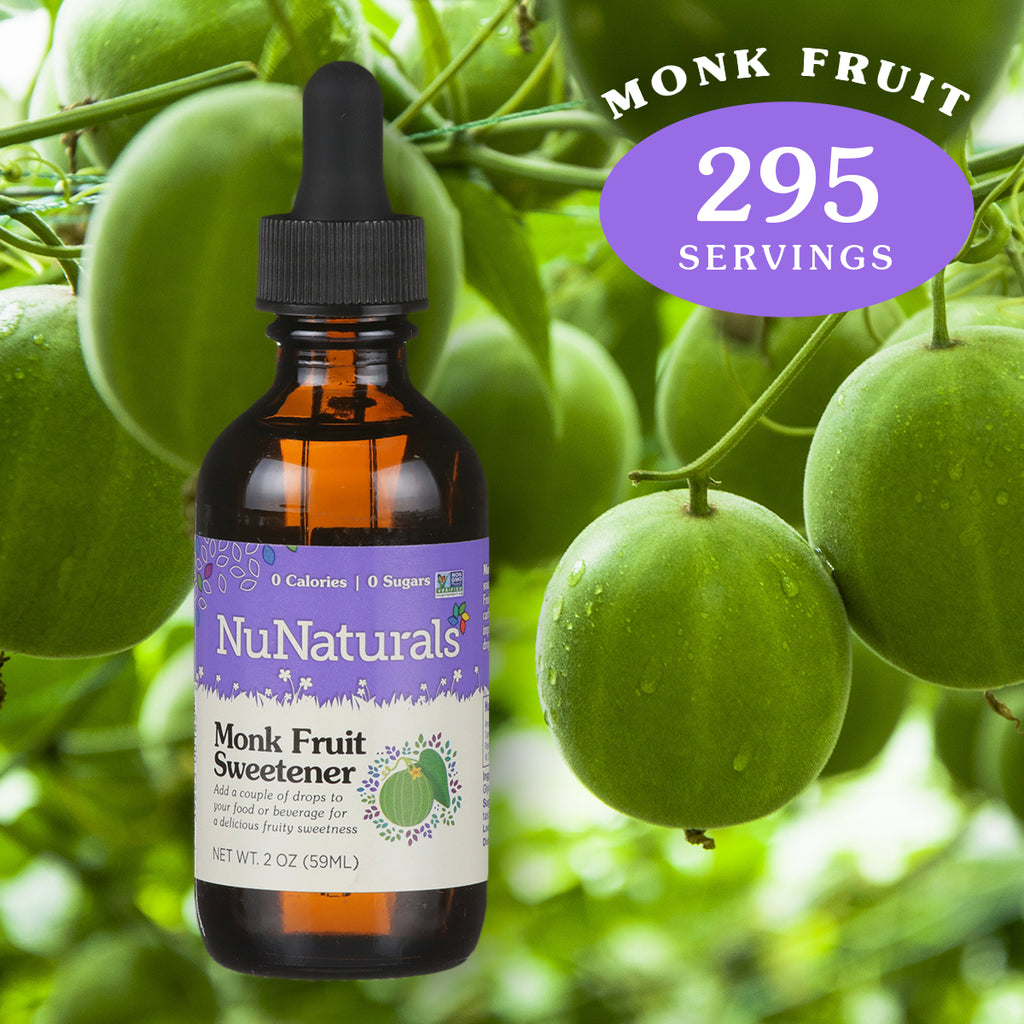 2 oz. NuNaturals Monk Fruit Sweetener