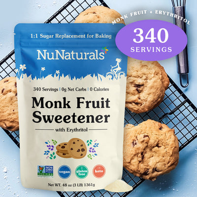 Monk Fruit 1:1 Sweetener 3 lbs