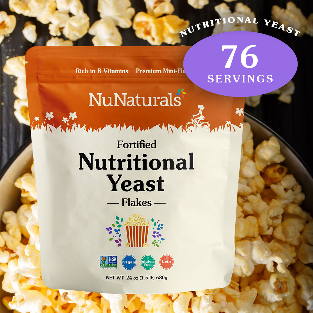 Fortified Nutritional Yeast Flakes 24 oz