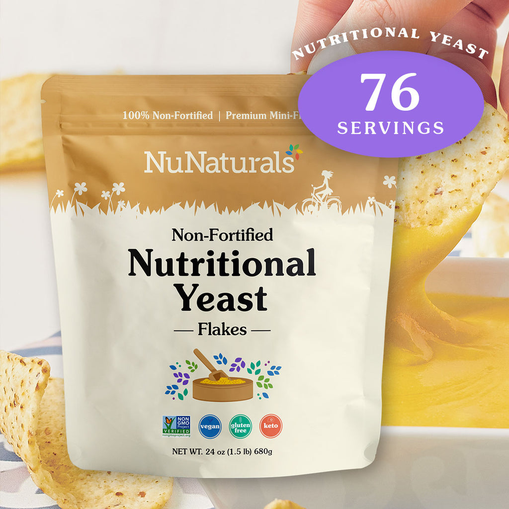 Non-Fortified Nutritional Yeast Flakes 24 oz