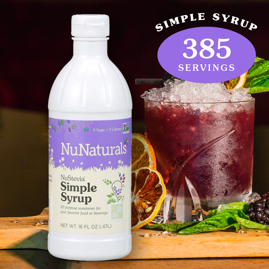 NuStevia Simple Syrup 16 oz