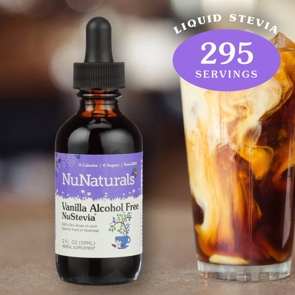 2 oz. NuNaturals Vanilla Alcohol Free Stevia Extract