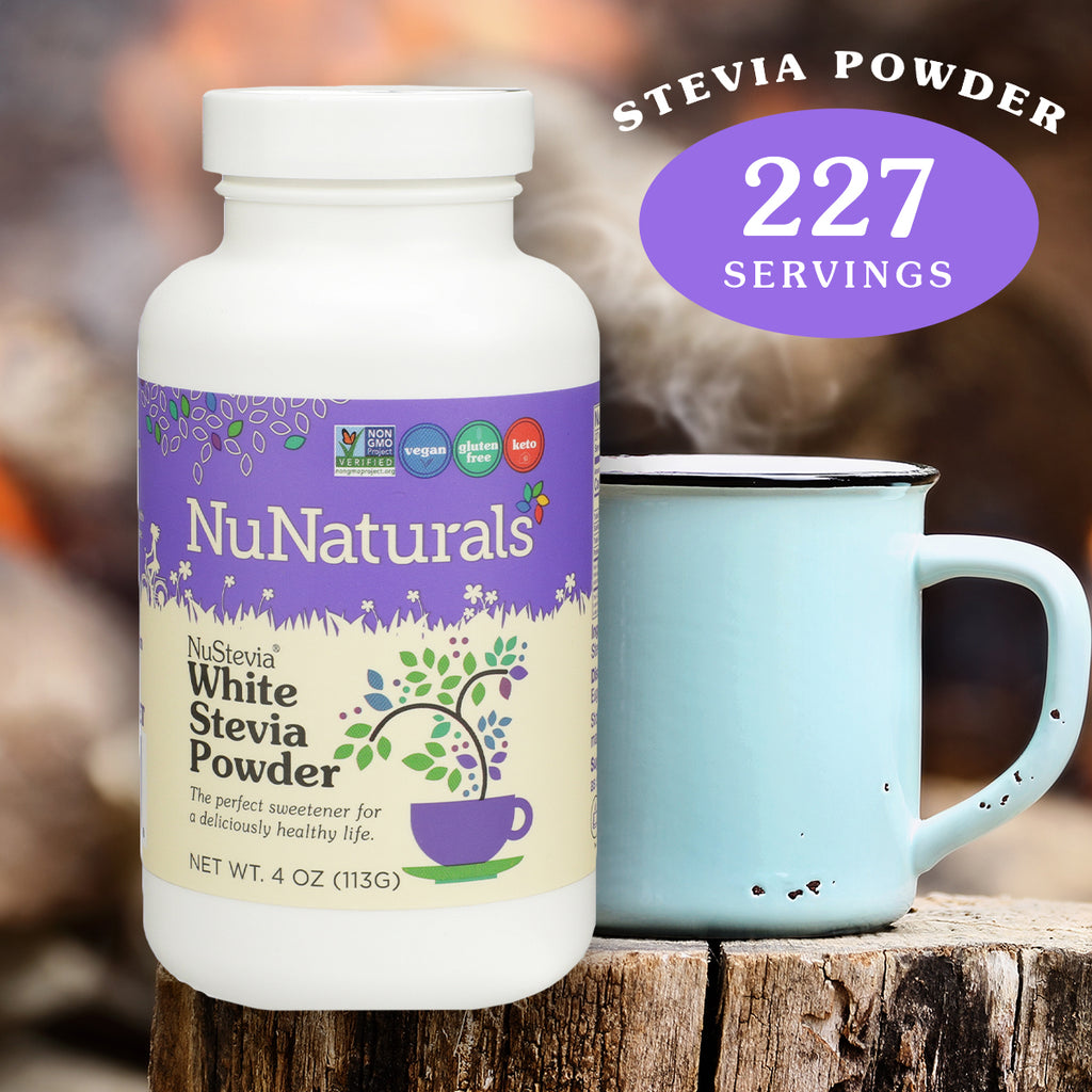 4 oz. NuNaturals White Stevia Powder