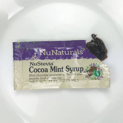 NuStevia Cocoa Mint Syrup Packet