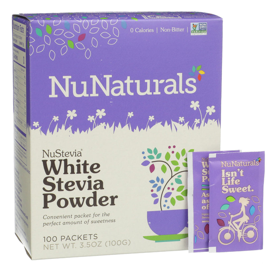 NuNaturals White Stevia Powder