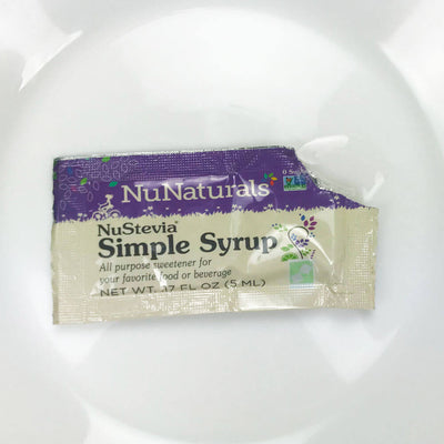 NuStevia Simple Syrup Packet