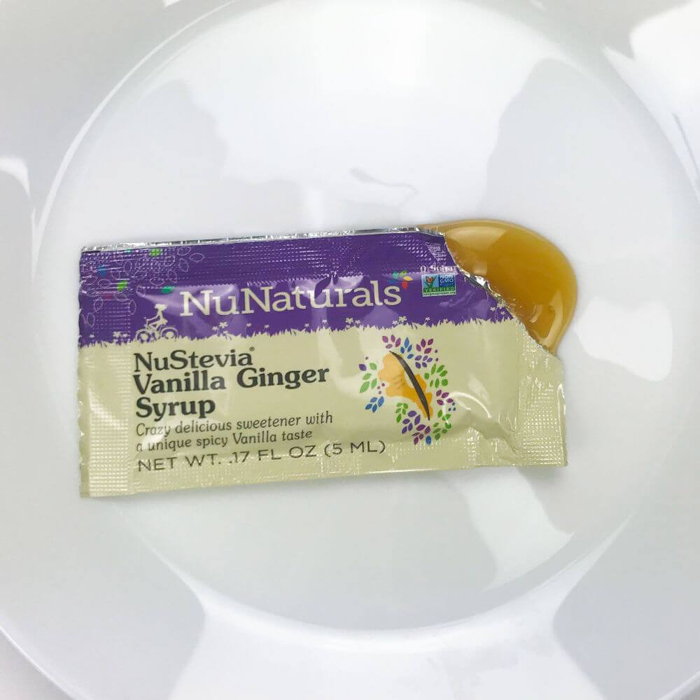 NuStevia Syrup Packets