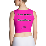 Running Shirt - Half Marathon Shirt - Running Crop Top - Workout Crop Top