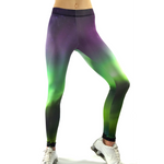 Aurora Sky Leggings - Aurora Borealis Leggings - Sky Leggings - Cloud Leggings - Northern Lights