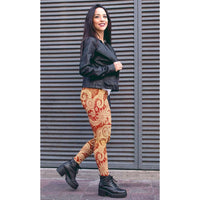 Paisley Leggings - Women and Mens