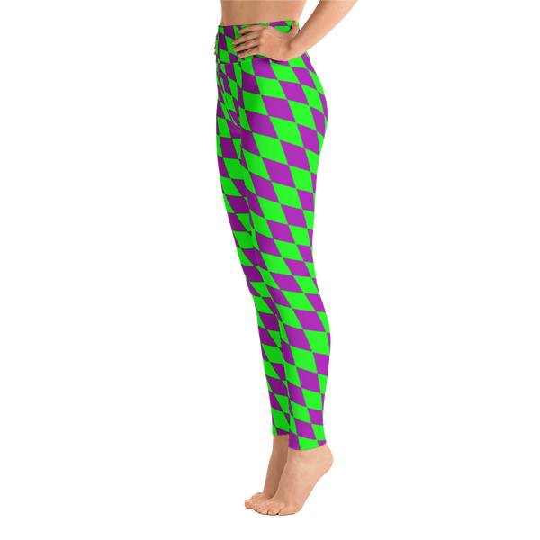 67c98fa58db32 Diamond Checkered Mardi Gras Leggings