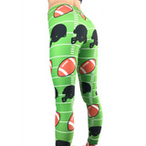 Football Leggings - Football Costume - Football Pants - Womans Football Leggings