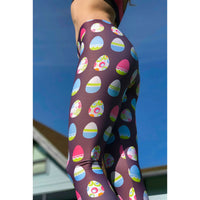 Easter Leggings - Easter Egg Holiday Leggings - Egg leggings - Easter Costume