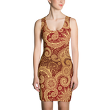 Paisley Dress - Paisley Patterned Dress - Paisly Leggings - Christmas - Gift - Christmass Dress