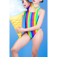 Rainbow Bikini - Rainbow One Piece Swimsuit