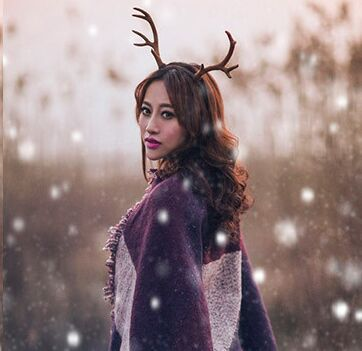 Deer horn - Antlers hairband/headwear/ Deer cosplay