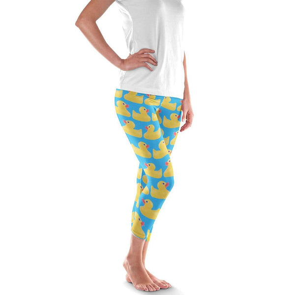 Rubber Duck Leggings - Duck costume
