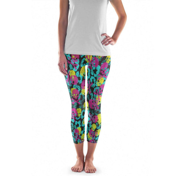 Skull Leggings - Womens and Mens