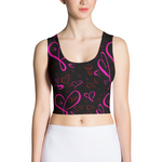 Valentines Day Heart Crop Top - Valentines Day Shirt - Heart Shirt - Valentines Day Costume