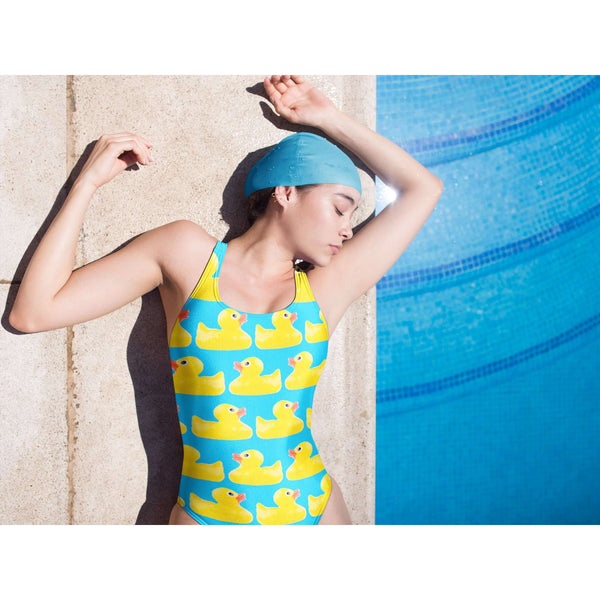 Yellow Rubber Duck Swimsuit - Duck Bikini - Yellow Rubber Duck One Piece Swimsuit - Surf Bikini
