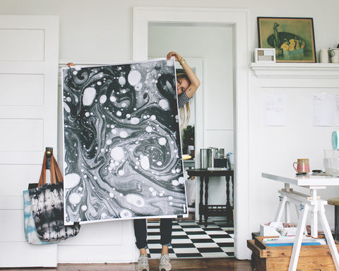 """A Study in Marbling"" by Scout & Catalogue"
