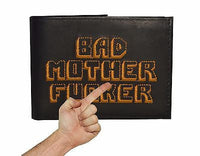 The Original BMF Leather Bifold Wallet VERSION BLACK