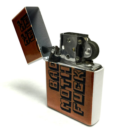 BMF Lighter Flip Top Style Metal Lighter
