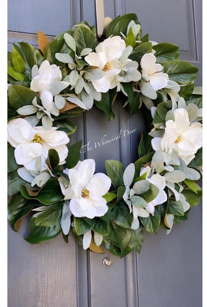 Magnolia wreath - Year round wreath