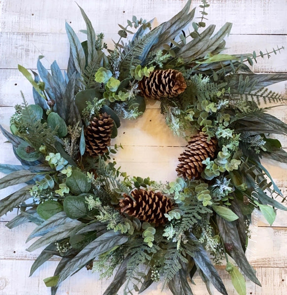 Winter wreath - Christmas wreath