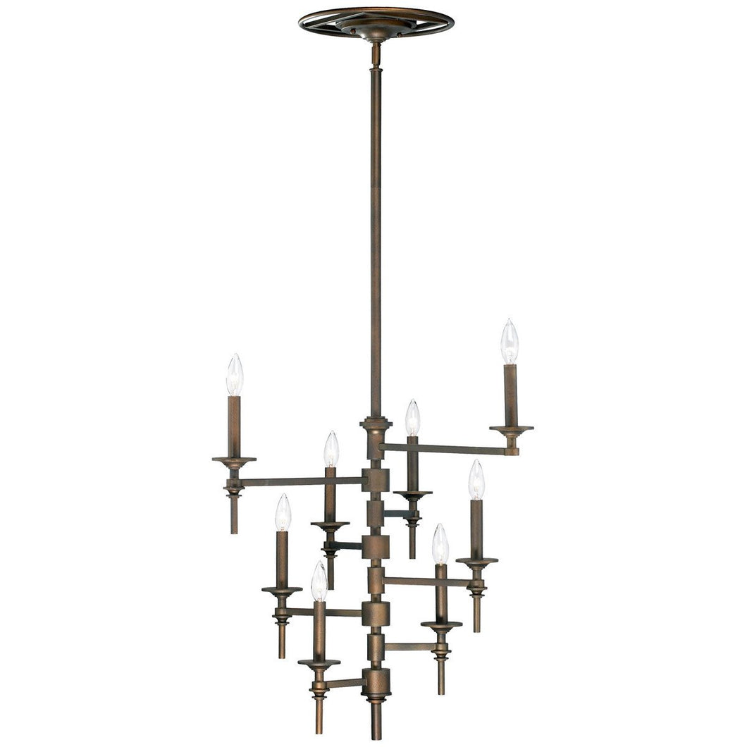 8-Light Omega Chandelier