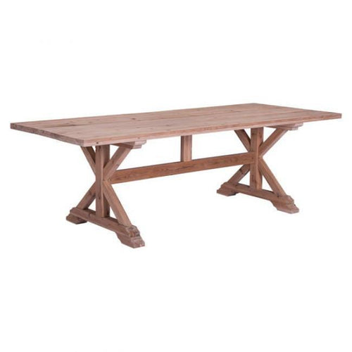 Alliance Dining Table Natural Fir - Benton and Buckley