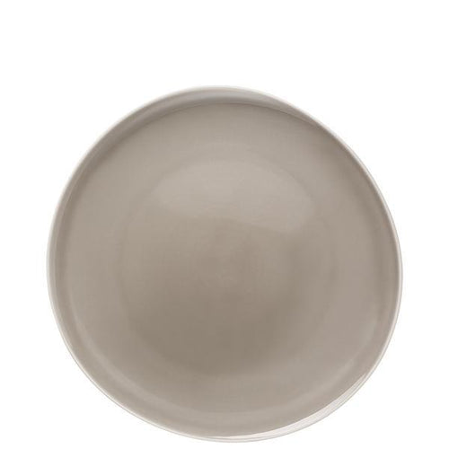 Dinner Plate, Flat, Pearl Grey, 10 1/2 inch | Junto - Benton and Buckley