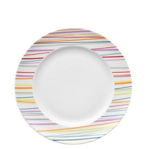 Rosenthal Thomas Sunny Day Sunny Stripes Dinner Plate, 10.5 inch - Benton and Buckley