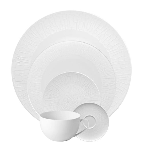 TAC 02 Skin Silhouette 5 Piece Placesetting - Benton and Buckley